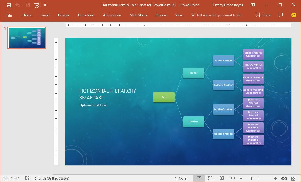 0016-horizontal-hierarchy-smartart-powerpoint-template